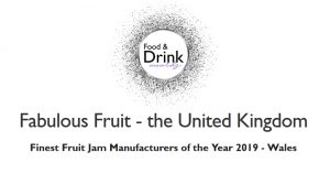 Fabulous Fruit Co Finest Fruit Jam Manufacturers of the Year 2019 for Wales