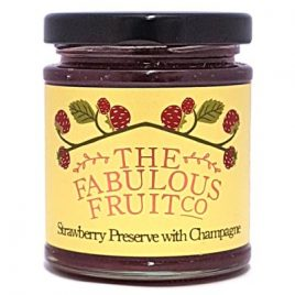 fabulous fruit company Strawberry Preserve with Champagne